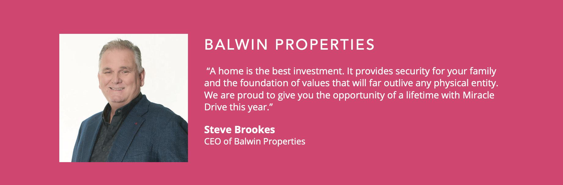 Balwin Testimonial